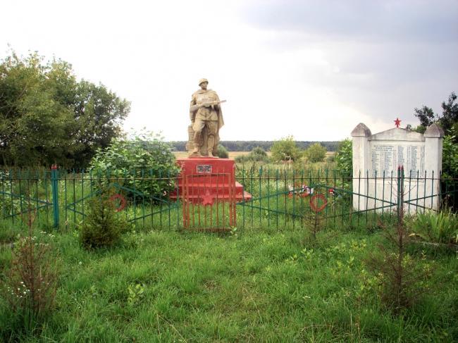 Памятник воинской славы в Пальцево