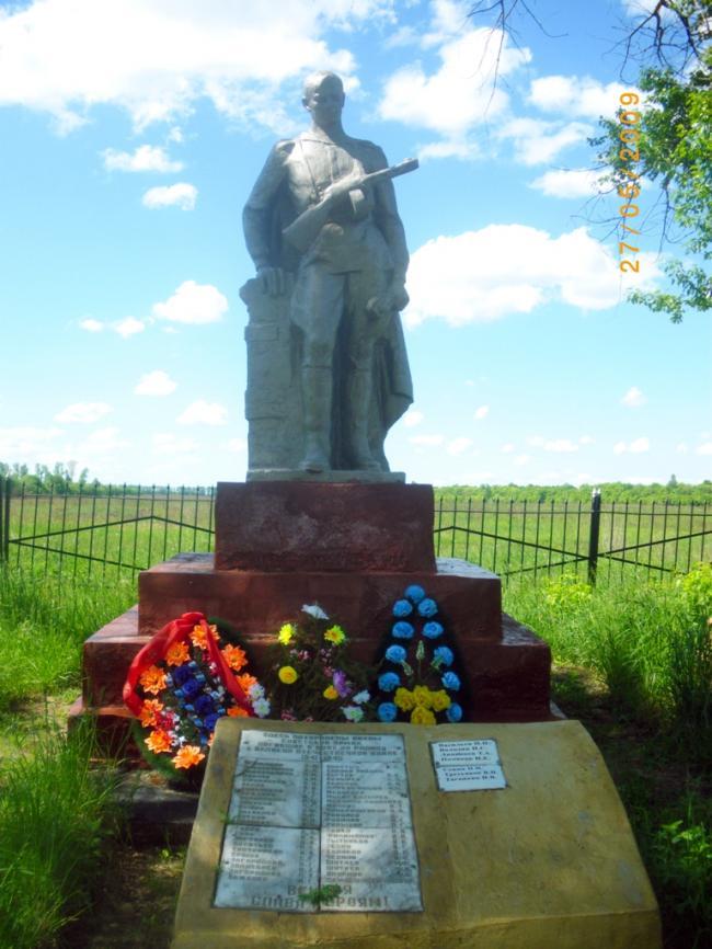 Военные памятники, мемориалы Великой Отечественной Войны в Дмитриевском районе Курской области