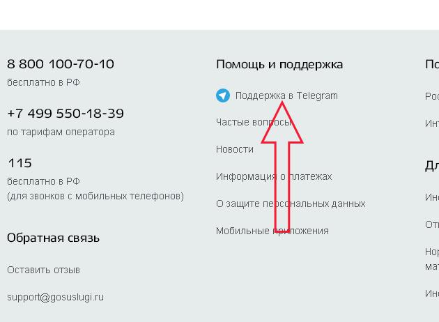 Помощь и поддержка пользователей портала